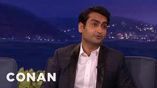 Kumail Nanjiani: The Muslim Cleric Who Married Me Was Into Beyoncé  - CONAN on TBS