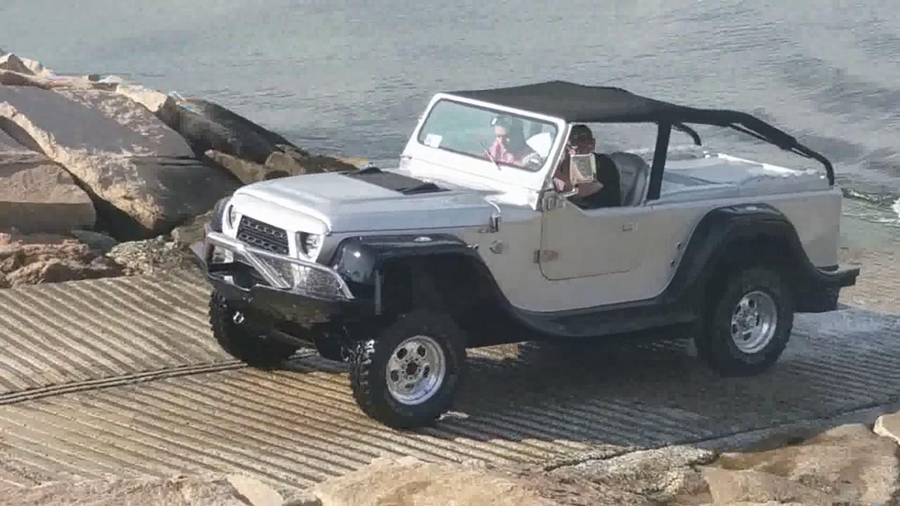 Cool Amphibious Jeep in Narragansett Rhode Island - YouTube