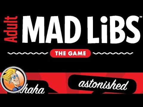 Adult Mad Libs: The Game — game preview at Gen Con 50