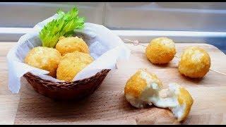 Сицилийские аранчини - рисовые шарики с сыром