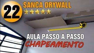 SANCA GESSO DRYWALL AULA 22 CURSO ON LINE