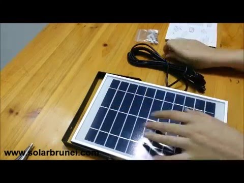 Setting up your ES Security Floodlight 1000 LM - Everything Solar, Brunei