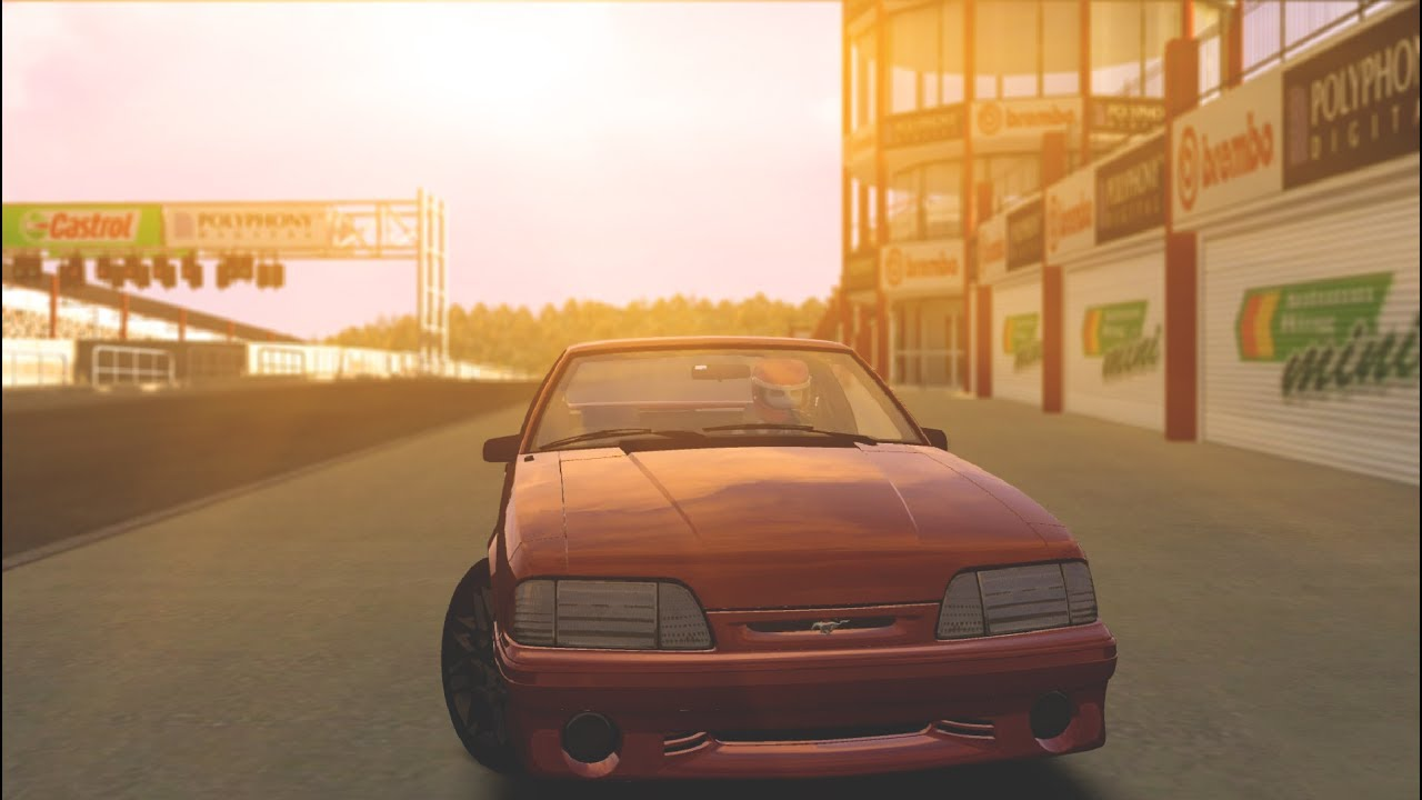 Assetto Corsa: Ford Mustang Foxbody @ Autumn Ring Mini!