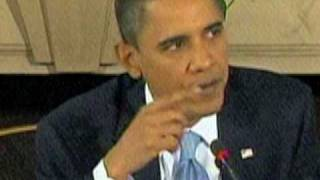 President Obama Picks His Nose on Live TV (Video has been stolen by Drudge)
