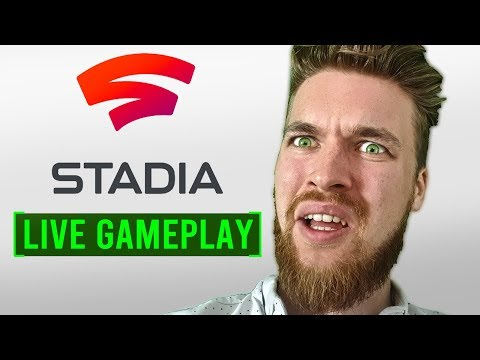 Google STADIA Gameplay at Home – Live Uncut Footage Review