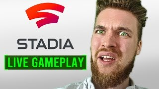 Google STADIA Gameplay at Home - Live Uncut Footage Review