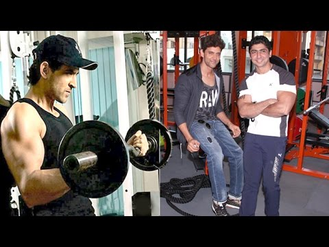 Hrithik Roshan Opens His Workout Bodybuilding Personal Trainers