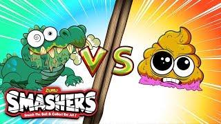 SMASHERS | Gross Gator vs Baby Poo | Camp Crud - Episode 5 | Cartoons for Children