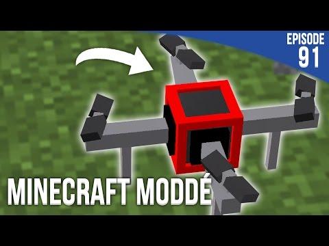UN DRONE VOLANT !  Minecraft Moddé S3  Episode 91