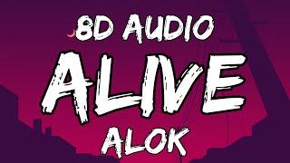Alok - Alive (It Feels Like) 8D AUDIO