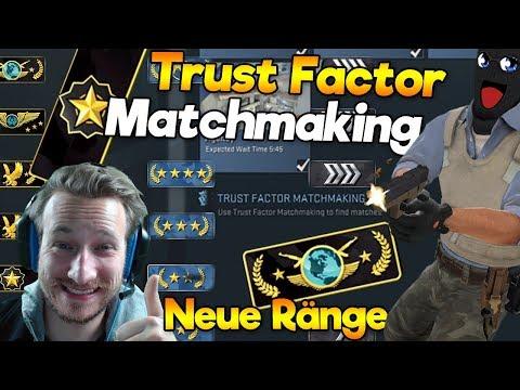 CS:GO Update | Neue Ränge + Trust Faktor Matchmaking | neues Rainking System