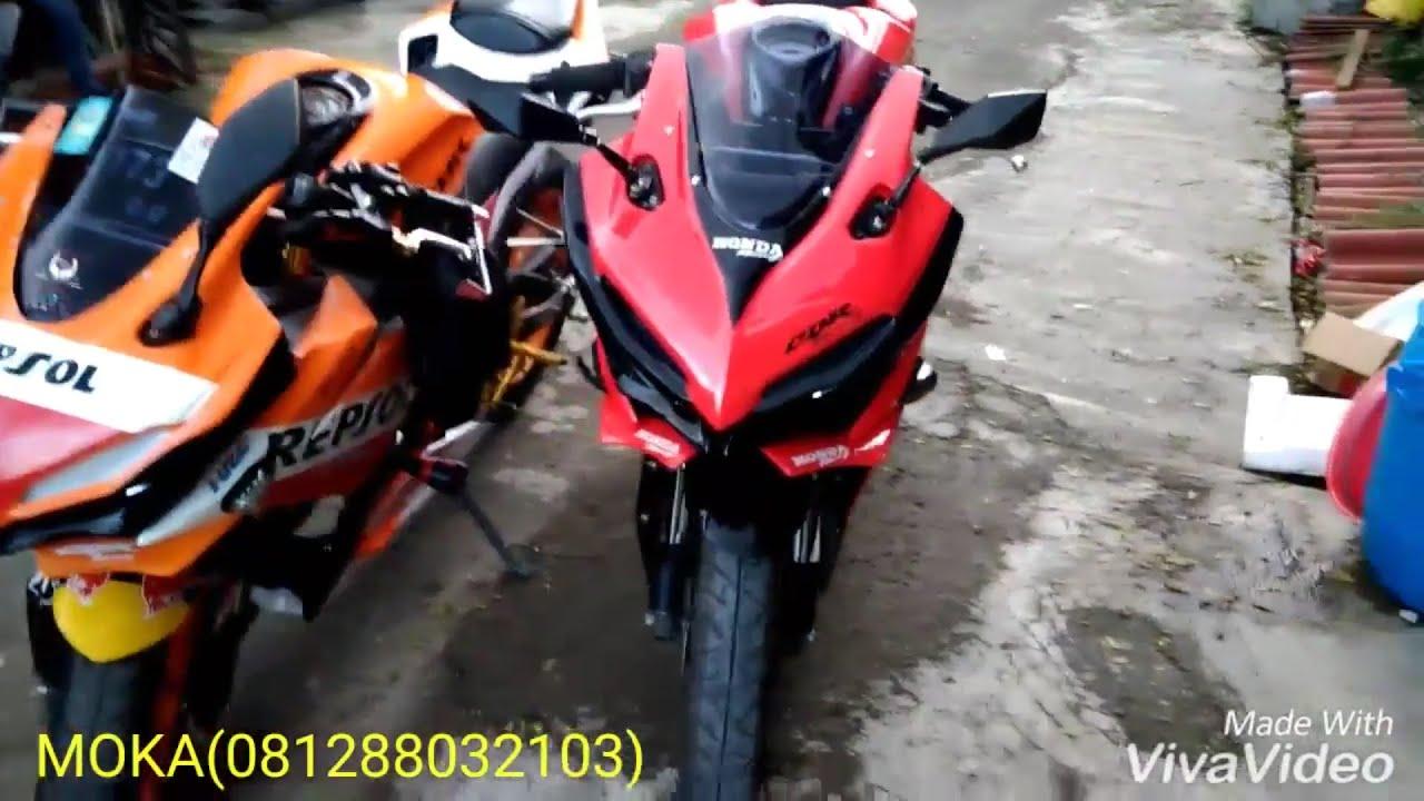 Modifikasi Cbr 150 R Facelift Black Red Victory Vs Repsol