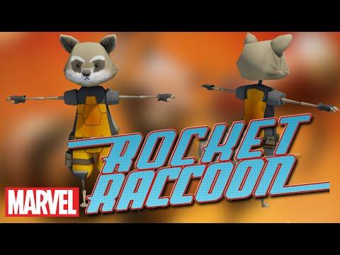 Rocket Raccoon (Speed Modeling)