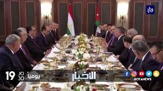 جلالة الملك ورئيس طاجيكستان يعقدان مباحثات تناولت مجالات عدة - (11-12-2017)