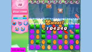 Candy Crush Saga Level 1602 NO BOOSTERS Cookie