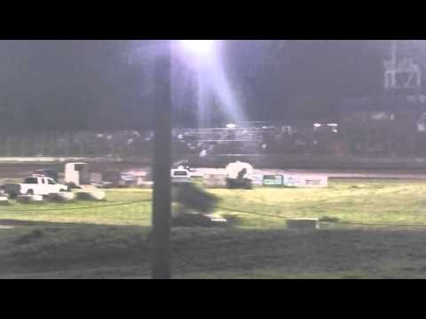 Jeffrey Hudson L88 1st Sprint Car Main Event Race Southern Oregon Speedway