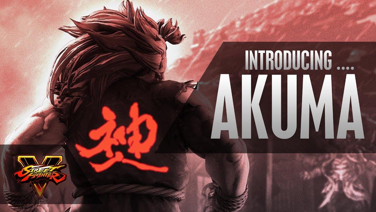 Sfv Character Introduction Series Akuma Youtube