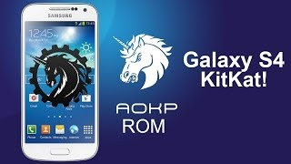 AOKP ROM Android 4.4.2 KitKat for Galaxy S4! [All U.S Variants]