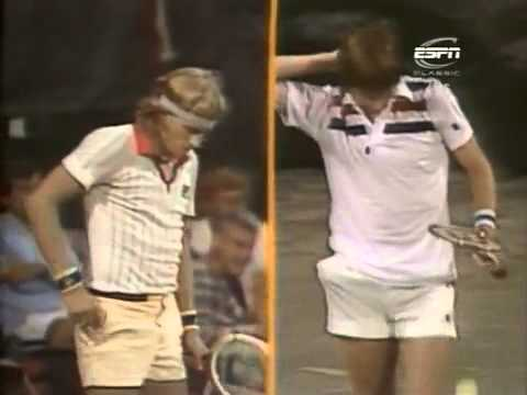 US Open final 1976 Borg VS Connors - YouTube