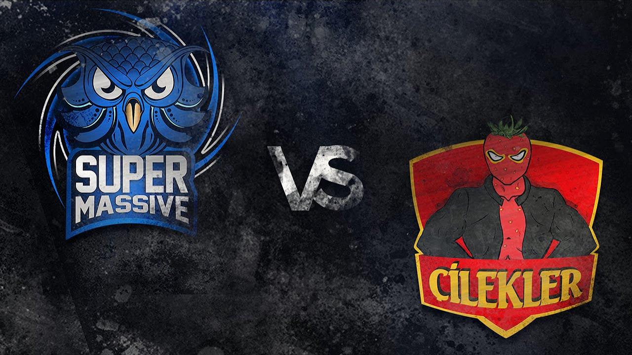SuperMassive  vs ÇİLEKLER 1. Maç | Şampiyonluk Ligi Yaz Mevsimi 1. Hafta