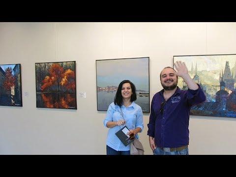 Yerevan, 17.09.17, Su, Video-1, (на рус), Картины А.Онищенко в музее Сарьяна.