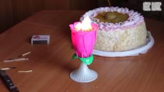 китайская свеча-цветок с музыкой. ОСТОРОЖНО! У нас ПОЖАР!(Отмечали детский день рождения. Свечку подожгли не правильно:) свеча на Алиэкспресс - http://goo.gl/4DhhSA ЗДЕСЬ..., 2014-10-09T07:00:03.000Z)