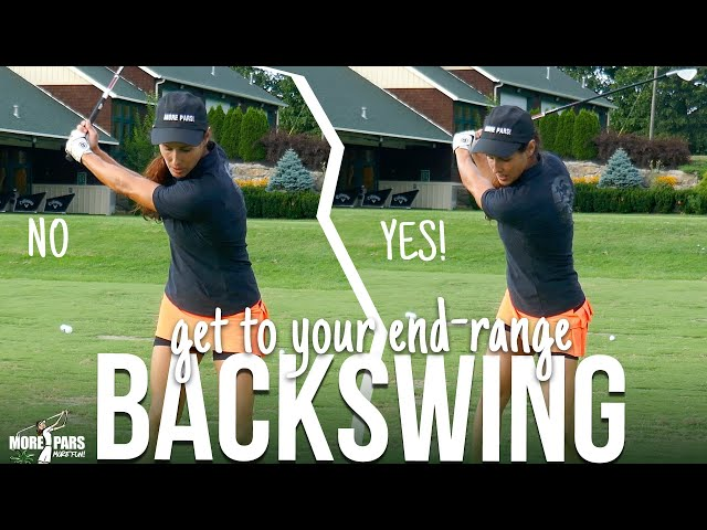 Golf Backswing End-Range (how to get there)