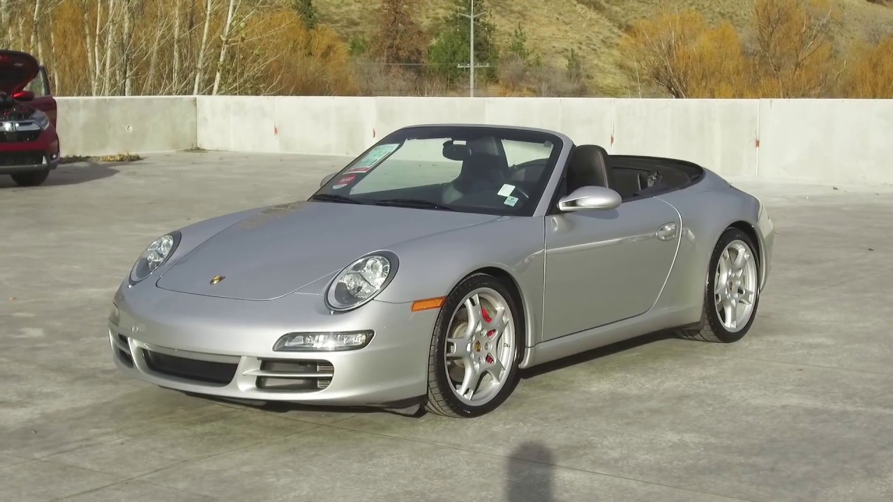 2007 Porsche 911 Carerra S Cabriolet Harmony Honda Silver