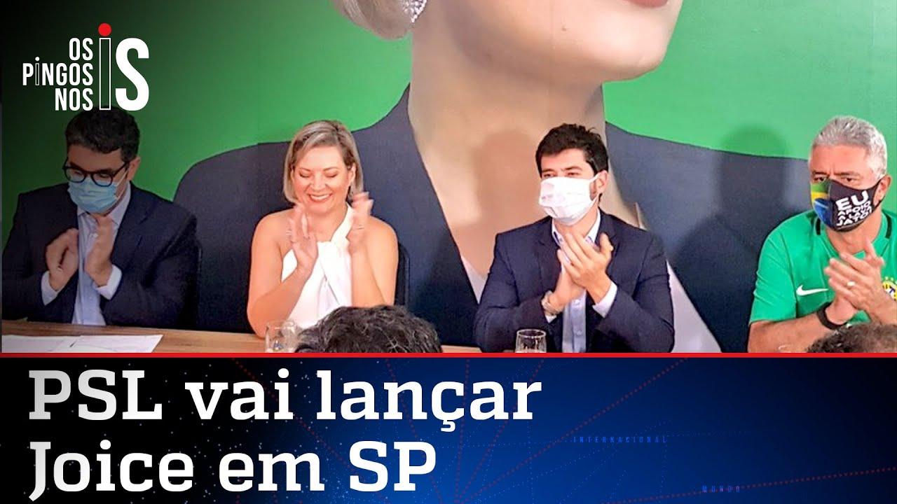 Joice quer ser candidata, mas não une nem o PSL