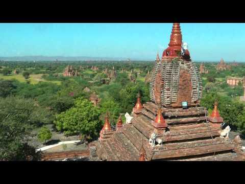 BURMA/MYANMAR Old Bagan (hd-video)