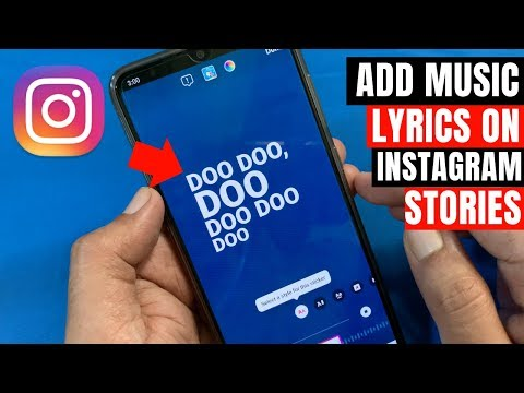How to add Music & Song Lyrics to Instagram Stories (In India 🇮🇳 also)