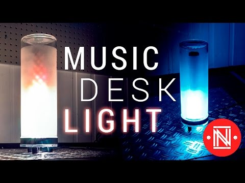 Music Reactive Desk Light || DIY
