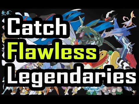 Catching Flawless Legendary Pokemon - Pokemon Omega Ruby Alpha Sapphire