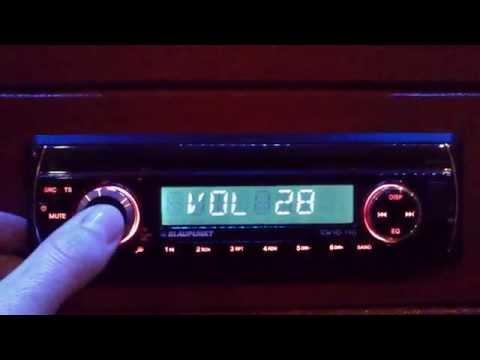 Blaupunkt Tokyo 110 - radio functions and look
