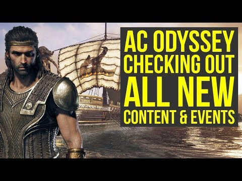 Assassin's Creed Odyssey DLC - Checking Out All The New Stuff (Weekly Reset March 12th) thumbnail