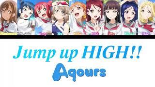 Gambar cover 「Jump up High」 -  Aqours [Romaji, Español, English, Color Coded]