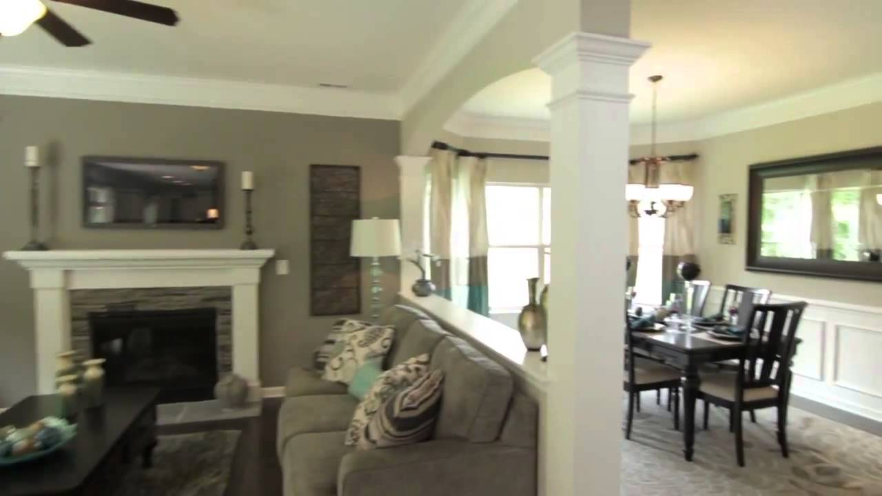 The Drexel by Eastwood Homes Charlotte NC New Homes  YouTube