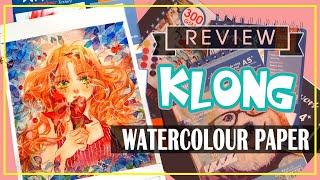 REVIEW GIẤY VẼ MÀU NƯỚC CỦA KLONG - REVIEW KLONG WATERCOLOUR PAPER   SÒ KIMURA