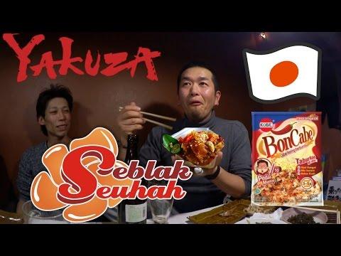 Reaksi Yakuza makan seblak+ bon cabe lv.15