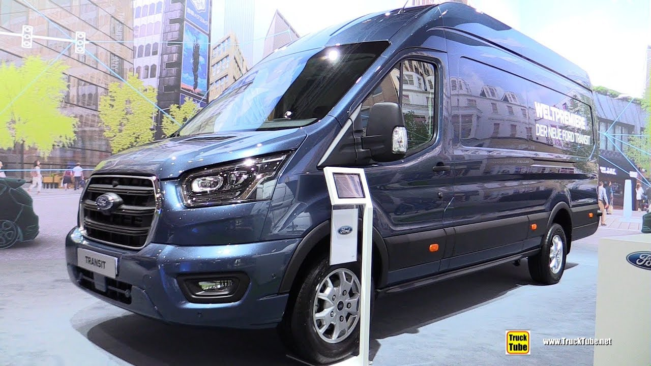 2019 Ford Transit Cargo Van - Exterior and Interior Walkaround - Debut at  2018 IAA Hannover