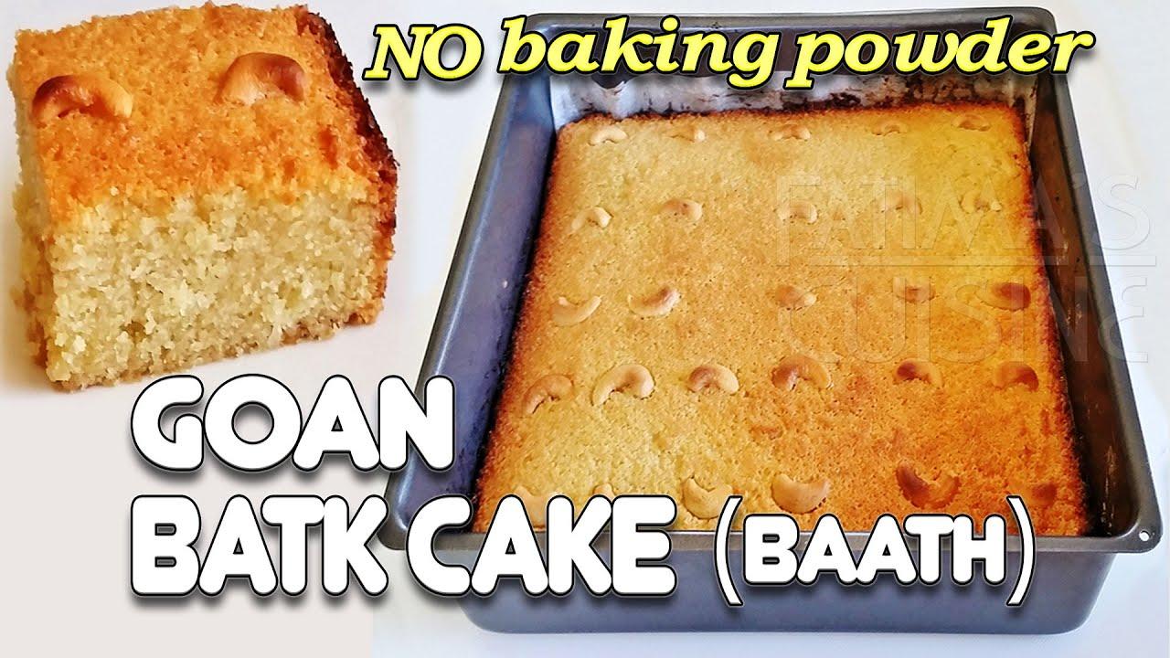 Goan Baath Cake Recipe Video