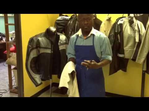 Nettoyer veste cuir moisie
