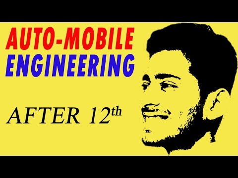 AUTOMOBILE ENGINEERING Career After 10th & 12th in India | B.E., B.Tech | #16 | CREATE YOUR IDENTITY