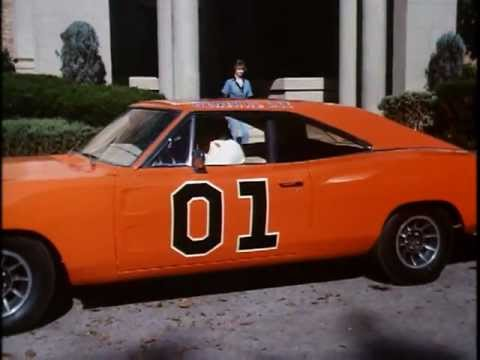 The Dukes of Hazzard: Bo's General Lee roof slide - YouTube