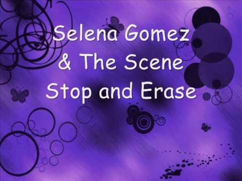 Selena Gomez & The Scene - Stop and Erase (Karaoke/instrumental)