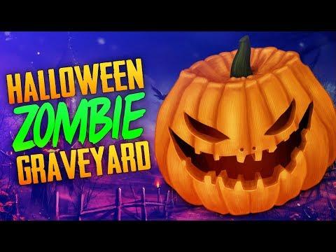 Halloween Zombie Graveyard (Call of Duty Zombies)