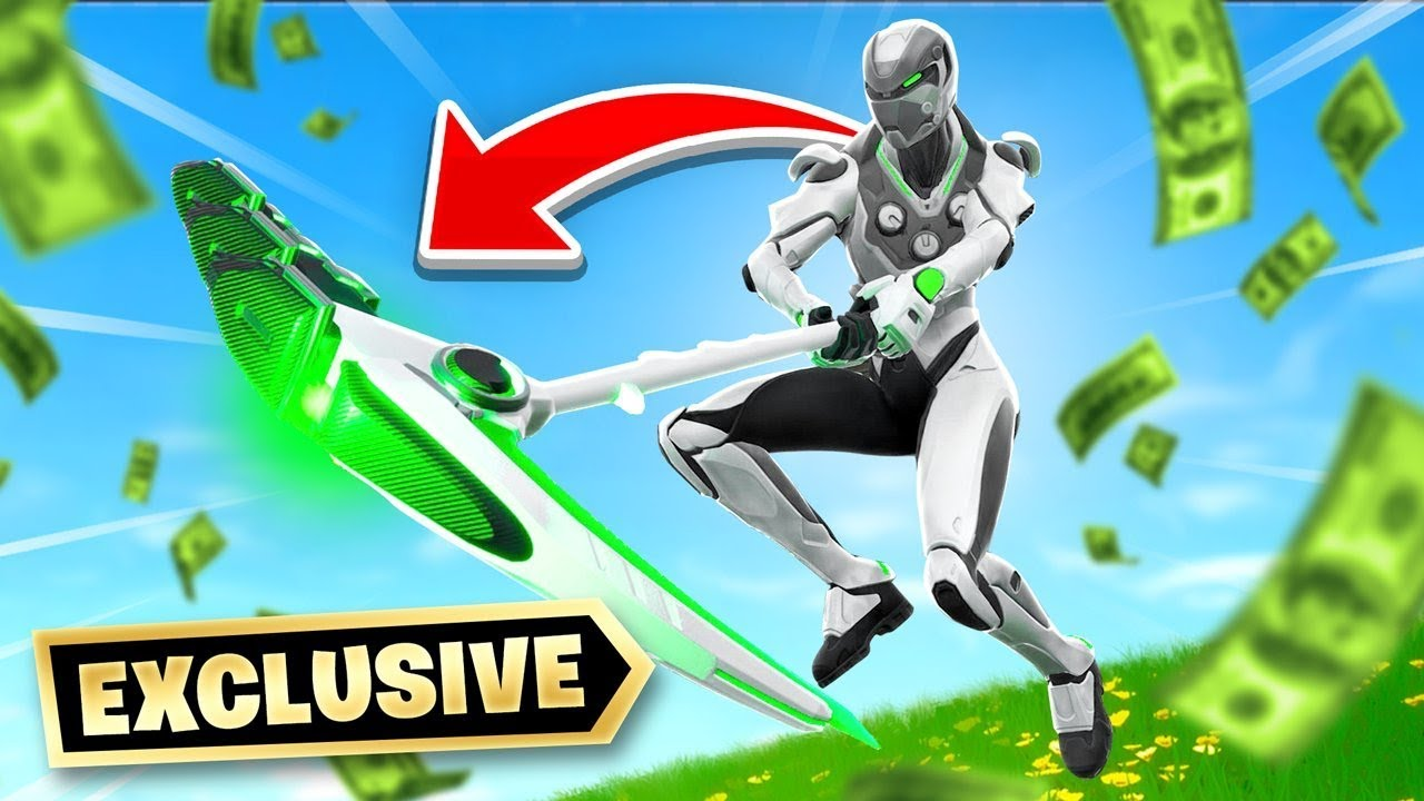 *NEW* Exclusive Xbox Fortnite Skin - YouTube