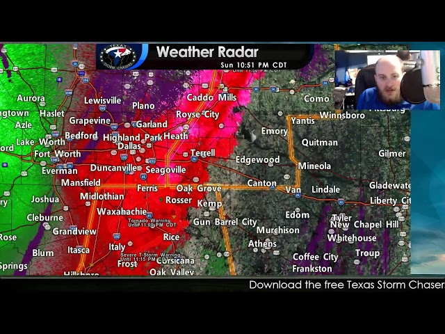 October 10, 2021   North Texas Severe Weather Coverage