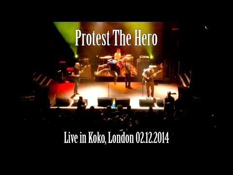 Protest The Hero - Live in Koko, London 02.12.2014