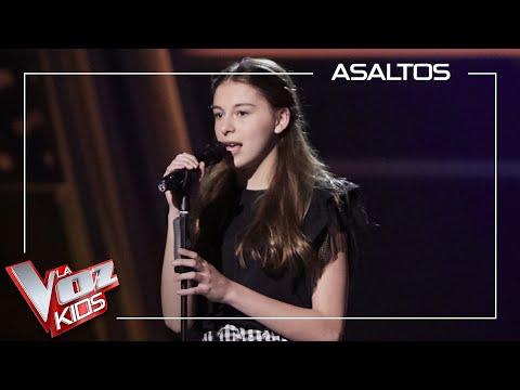 Carmen Puente canta 'Love is a losing game'   Asaltos   La Voz Kids Antena 3 2021